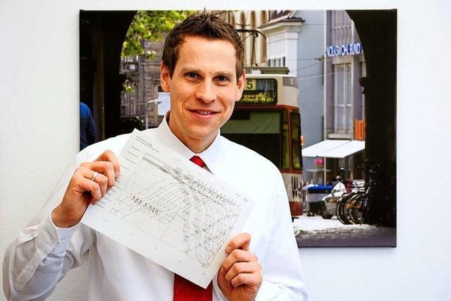 Oliver Benz ist Freiburgs neuer Herr der Fahrpläne