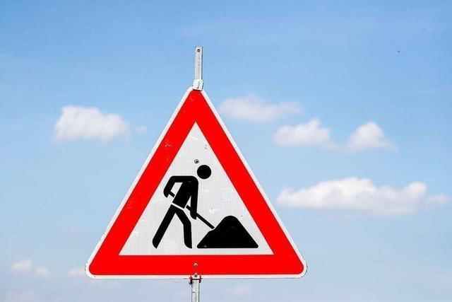 Brückensanierung in der Rheinstraße in Lahr dauert bis Juli