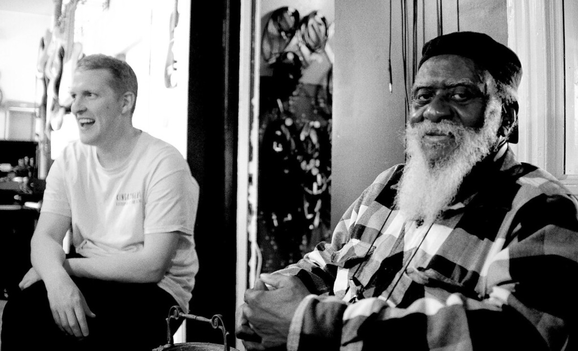 Als würde er seine Seele auf dem Table...anders mit dem Produzenten Sam Shepard  | Foto: Eric Welles Nystrom