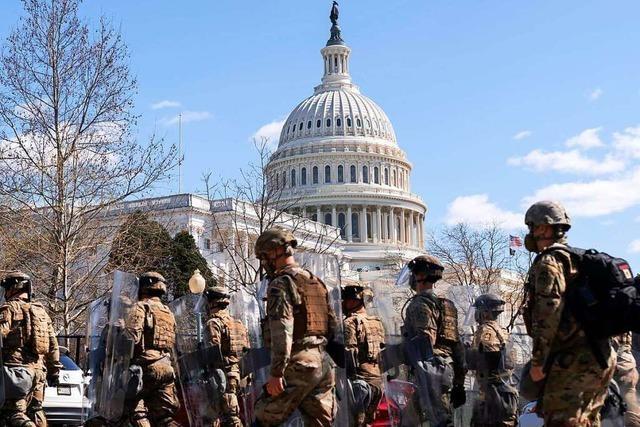 Angreifer tötet Polizisten am Kapitol und wird selbst erschossen
