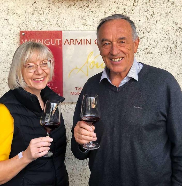 Ulrike Lenhardt und Armin Göring  | Foto: Weingut Göring