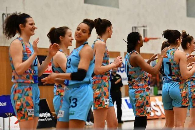 Endstation Viertelfinale – die Frauen des USC Freiburg scheitern nach einem 59:69 gegen Herne