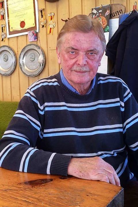 Zuchtwart Karl Heinz Drößler hat  zahlreiche Pokale gewonnen.  | Foto: Annemarie Rösch