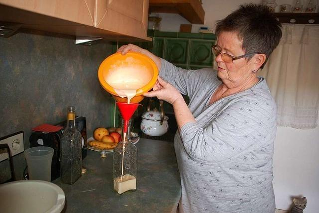 Der Eierlikör aus Eichsel ist besonders zu Ostern ein Hit