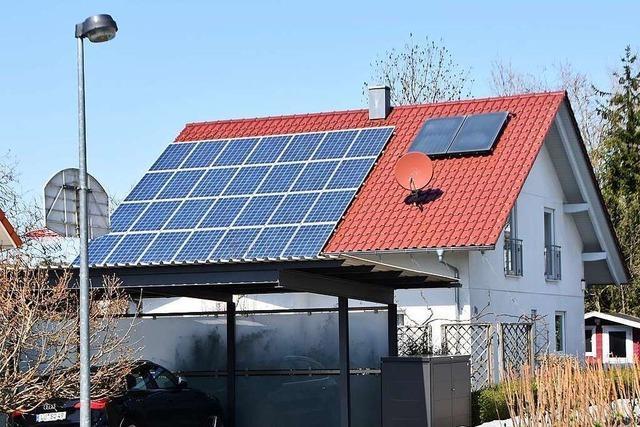 Photovoltaik-Programm wird in Rheinfelden neu aufgelegt