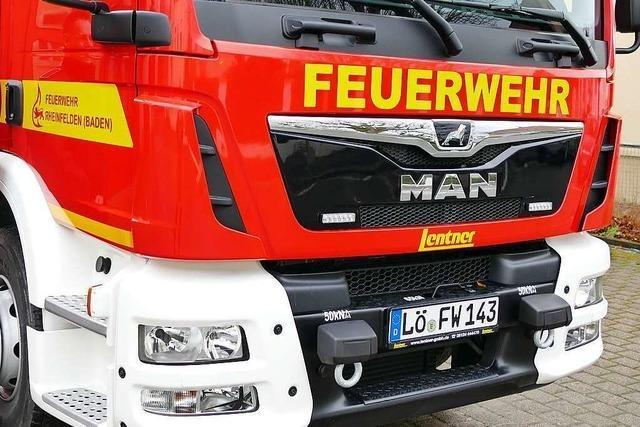 Rheinfelder Feuerwehrkommandant befürchtet Ausbildungsstau