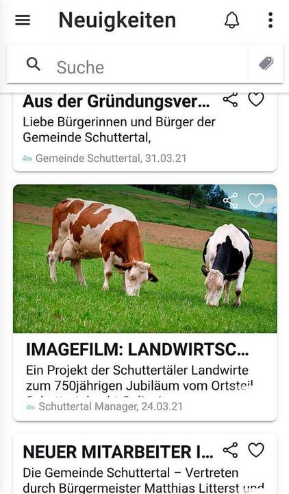 Ganz neue Seiten – Schuttertal hat jetzt eine Gemeinde-App.    Foto: Beate Zehnle-Lehmann