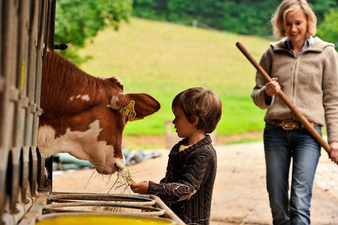 Was für die ganze Familie: Urlaub auf dem Bauernhof (Archivbild)    Foto: LAG Urlaub auf dem Bauernhof