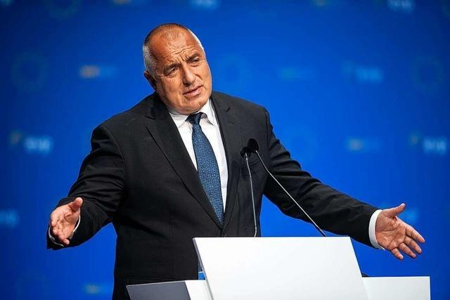 Bulgarien: Wahlsieger Borissow vor schwieriger Regierungsbildung