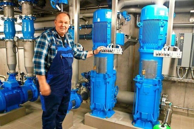 Ultrafiltration liefert klares Wasser für Bollschweil