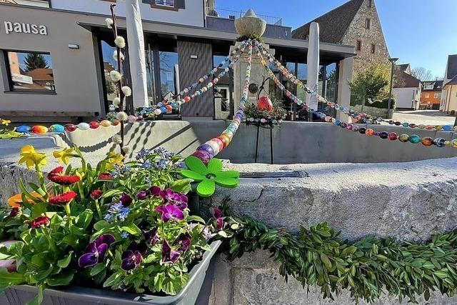 Osterbrunnen wird zum Internationalen Projekt