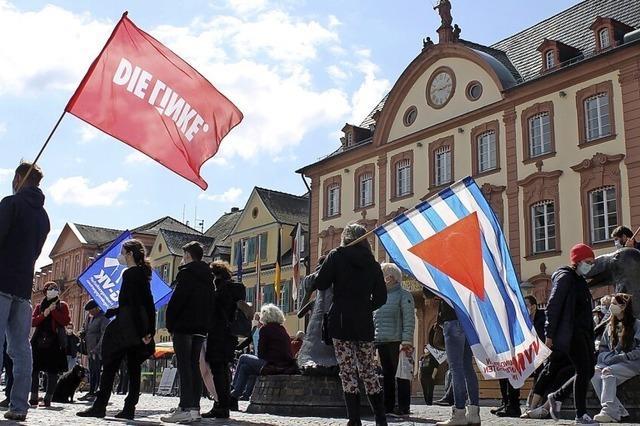 Offenburger Ostermarschierer fordern ein Verbot von Atomwaffen