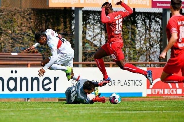 Die Pressingmaschine des Bahlinger SC zermürbt den VfB Stuttgart II