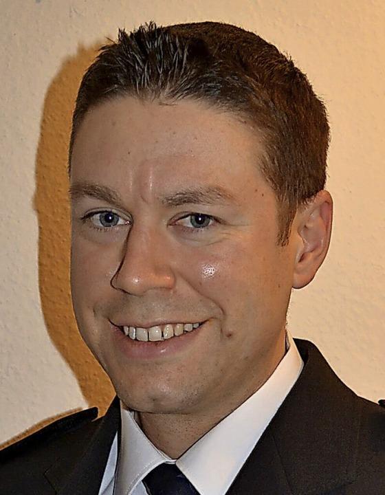 Stefan Engler, neuer Kommandant der Freiwilligen Feuerwehr Köndringen.  | Foto: privat