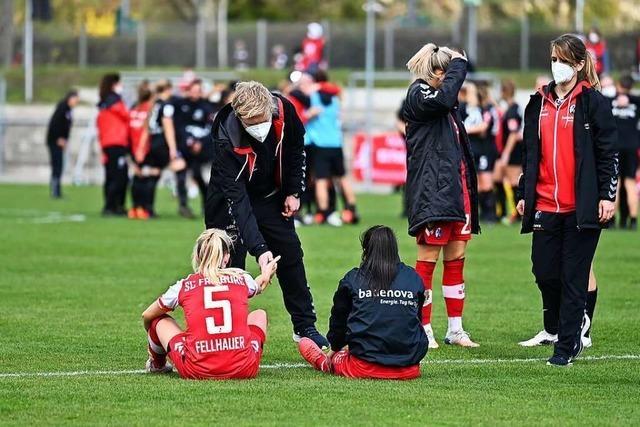 Große Enttäuschung – SC-Fußballerinnen schaffen's nicht ins DFB-Pokalfinale