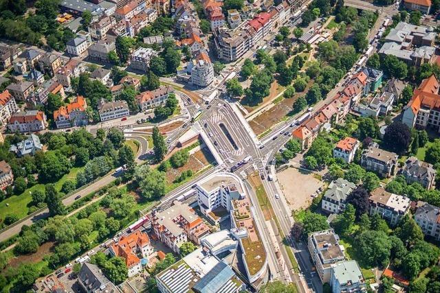 Wie läuft der Verkehr in Freiburg im Fall einer Tunnelsperrung?