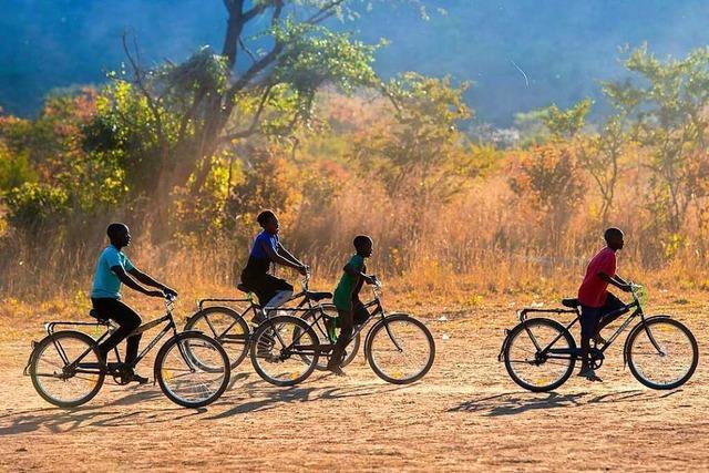 Die Welt-Fahrrad-Hilfe stiftet Räder für eine bessere Welt