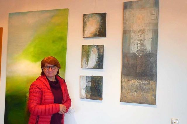 Emmendinger Kunsttherapeutin Lilli Röckle nutzt die Pandemie für das Malen
