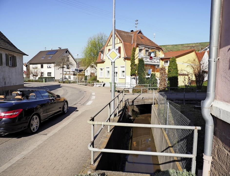 Die Gemeinde Malterdingen nimmt ihre m...ung hatte gravierende Schäden ergeben.    Foto: Michael Haberer