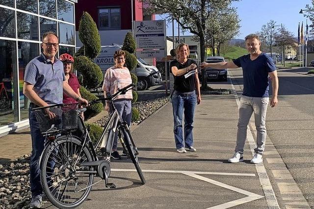 Gemeinde gewinnt E-Bike