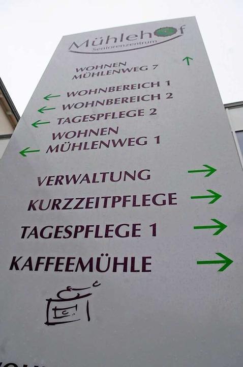 Das Steinener Seniorenzentrum Mühlehof...einer Cafeteria für geimpfte Bewohner.  | Foto: Robert Bergmann