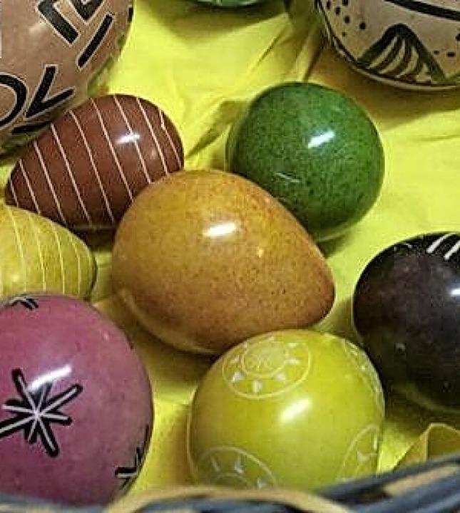 Nur Deko-Eier werden nicht ranzig.  | Foto: Bastian Bernhardt
