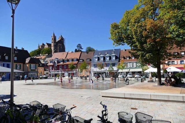 Auf dem Breisacher Marktplatz werden keine neuen Bäume gepflanzt