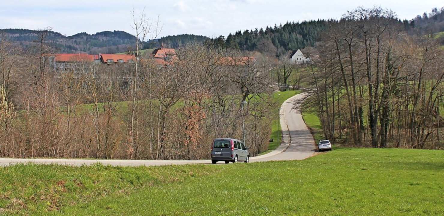 In dem Gebiet Stockenhöfe in Wittnau s...d ist die Klinik Stockenhöfe zu sehen.  | Foto: Franziska Kiele