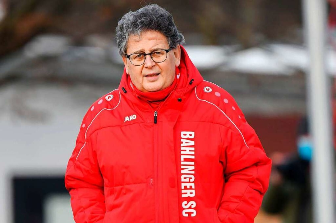 Dieter Bühler, Vereinschef des Bahling... Runde hier abgebrochen werden sollte.  | Foto: Claus G. Stoll