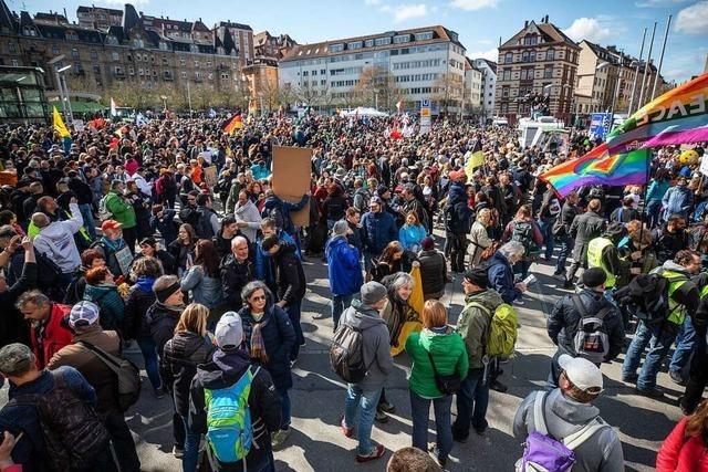 Bei der Anti-Corona-Demo haben die Behörden fahrlässig gehandelt