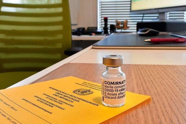 Das Impfen in den Hausarztpraxen hat etwas von Aufbruch