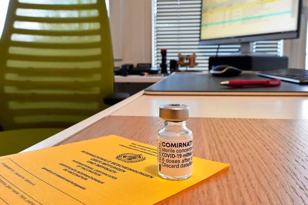 Nun wird auch in den Hausarztpraxen geimpft.    Foto: Michael Bamberger
