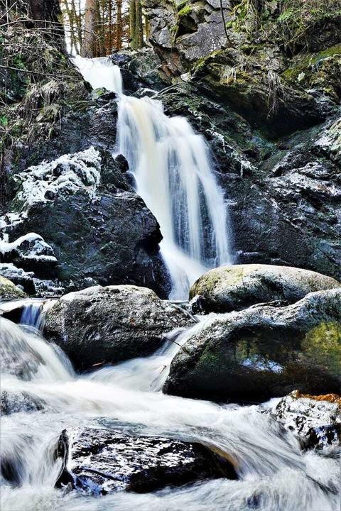 Falkauer Wasserfall.  | Foto: Susanne Gilg