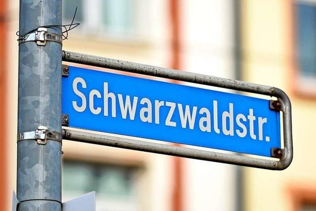 An der Freiburger Schwarzwaldstraße gibt es bald einen neuen Zebrastreifen