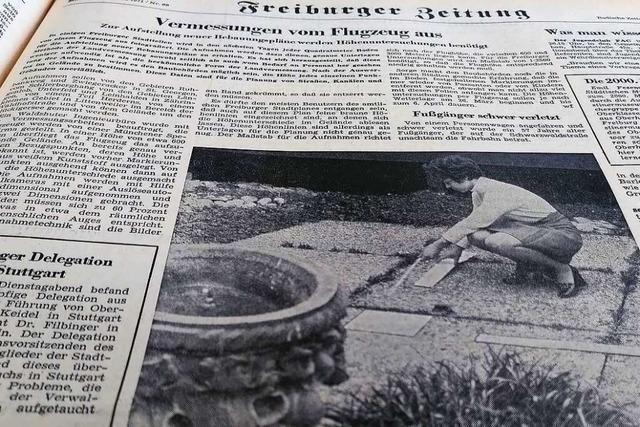 Die Stadt wurde im Frühjahr 1971 aus der Luft neu vermessen