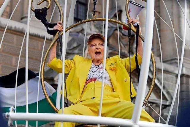Die rebellische Mode-Schöpferin Vivienne Westwood wird 80 Jahre alt