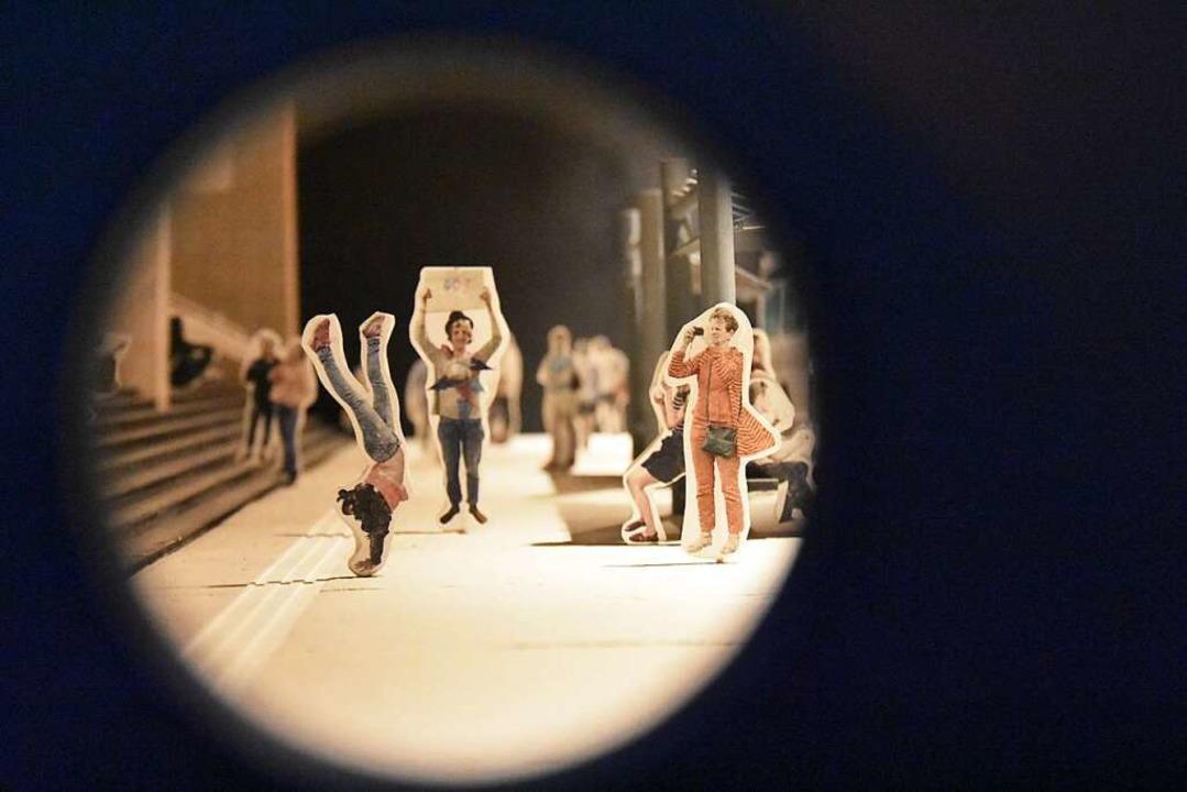 Blick durchs Guckloch  | Foto: Kathrin Ganter