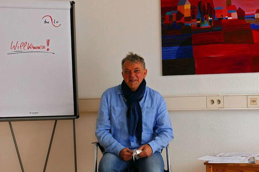 Joachim Blank leitet die Fachstelle Su...sstellen in Emmendingen und Waldkirch.  | Foto: Marius Alexander