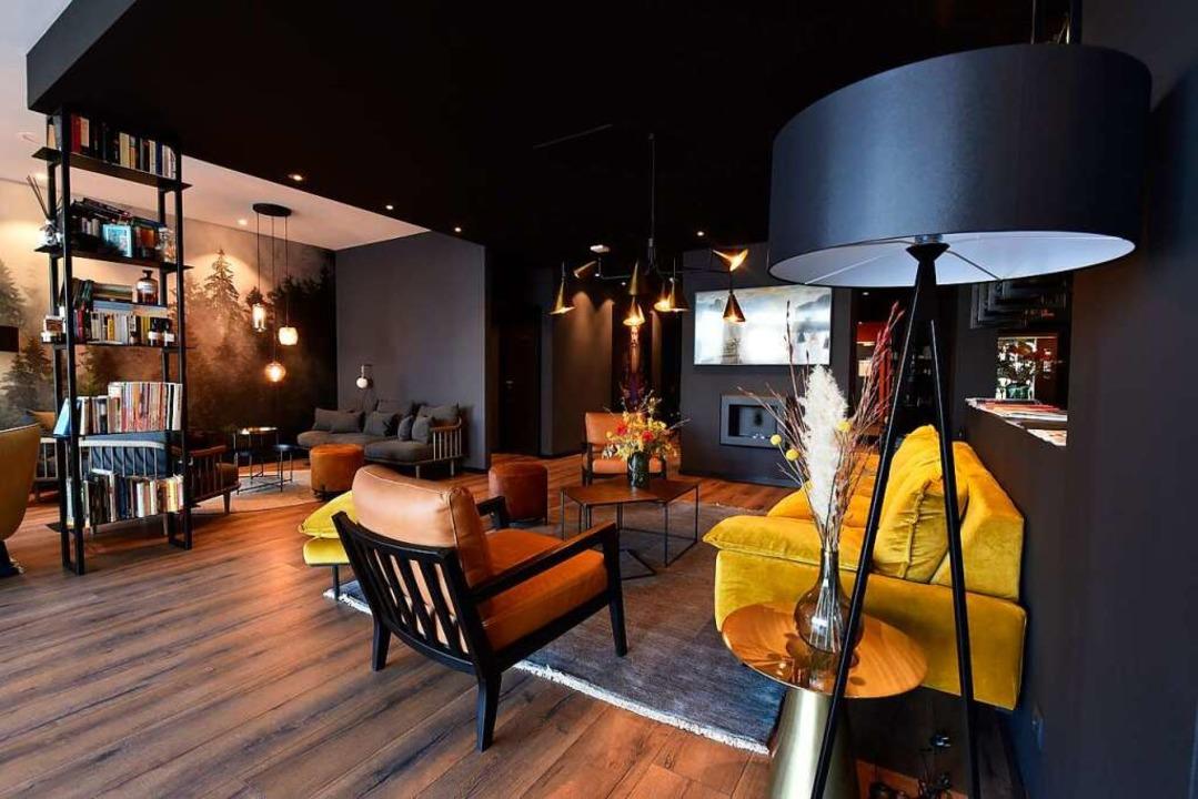Die Lounge im Erdgeschoss ist für alle da.  | Foto: Thomas Kunz