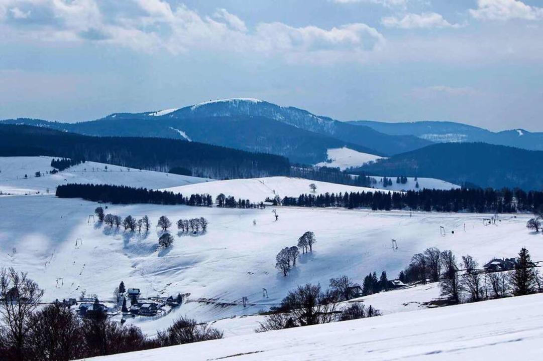 So winterlich sah es auf dem Schauinsland noch am 26. März aus.  | Foto: Wolfgang Fritz