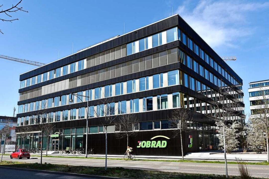 Der neue Hauptsitz der Firma Jobrad an...n-Stephan-Straße ist bereits zu klein.  | Foto: Thomas Kunz