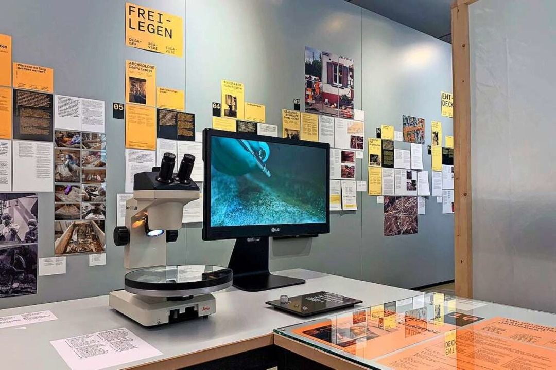 Die Ausstellung stellt die Arbeit der Forscher vor.    Foto: Karin Kob/Augusta Raurica