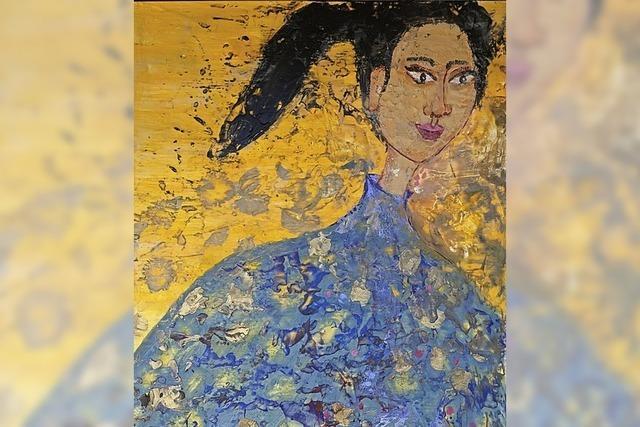 Nach der Fotographie nun Malerei von Helga Bauer