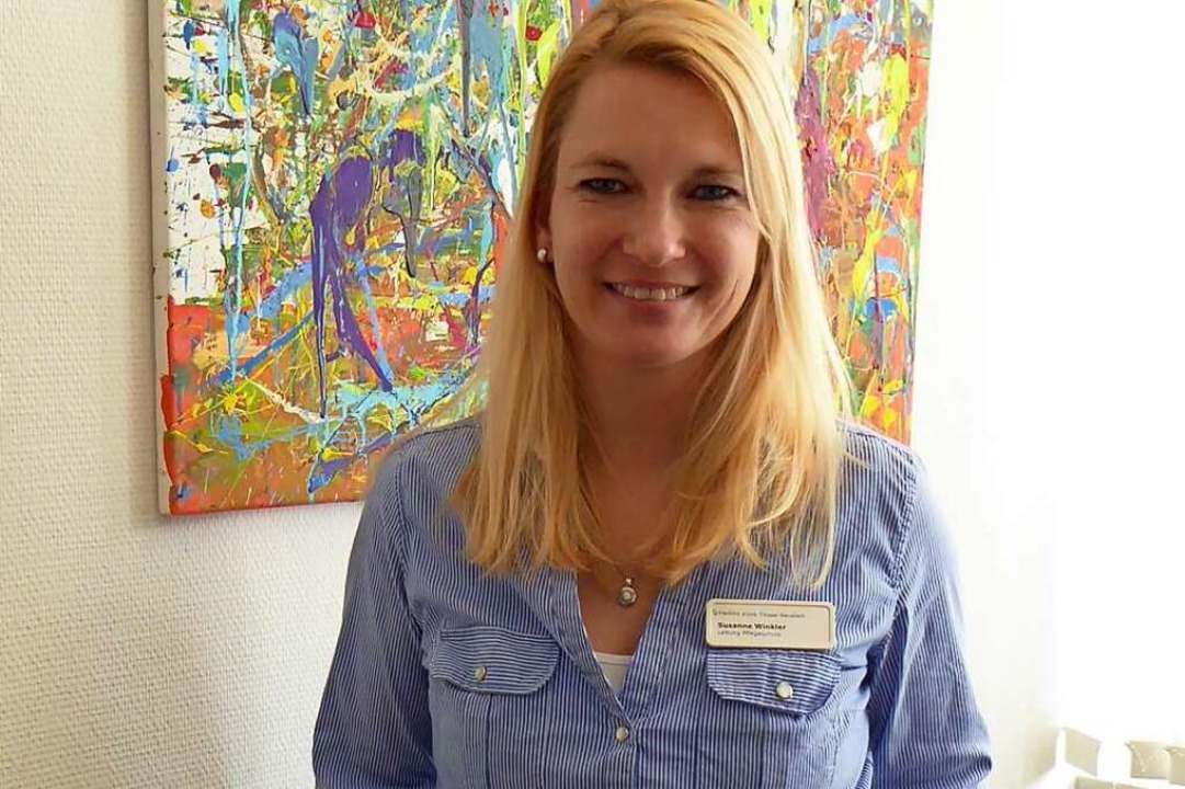 Schulleiterin Susanne Winkler  | Foto: Ute Kienzler