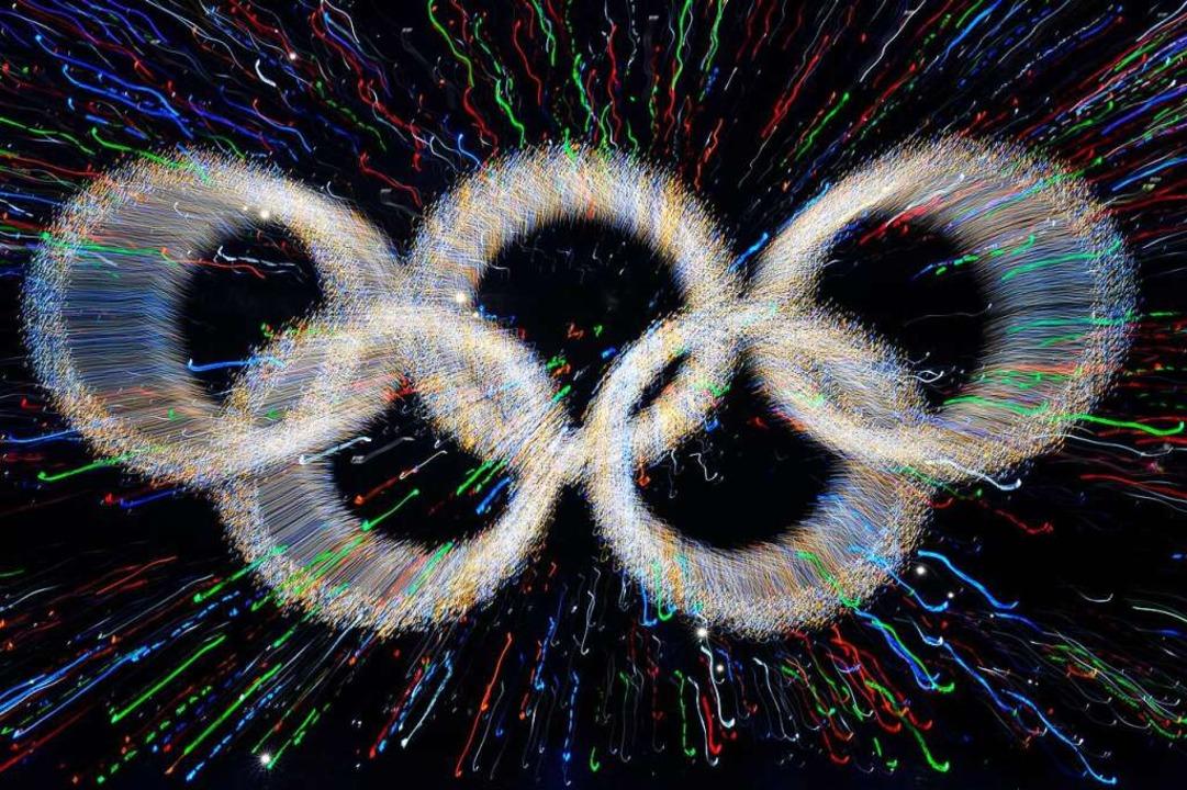 Umstritten: Olympia 2022 in Peking    Foto: FILIPO MONTEFORTE, ut/tlr