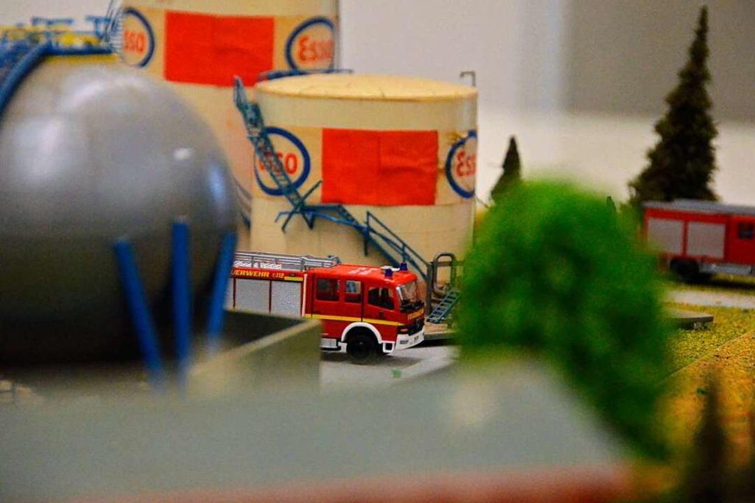 Egal welche Rettungsorganisation, es g...Modelle. Für die Feuerwehr <ppp></ppp>    Foto: Felix Lieschke