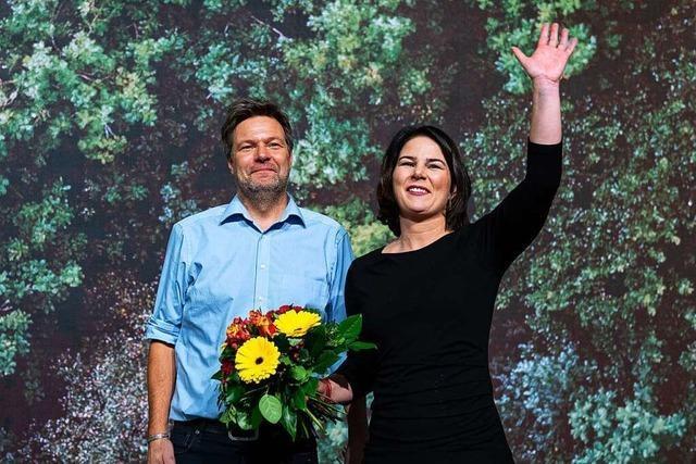 Die Grünen stehen vor der Entscheidung über die Kanzlerkandidatur