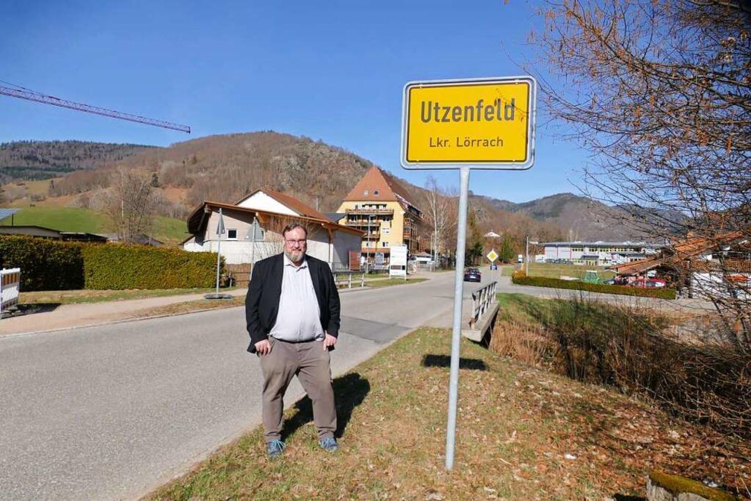 """Utzenfeld muss selbstständig bleiben"", sagt Hartmut Schwäbl.  | Foto: Sarah Trinler"