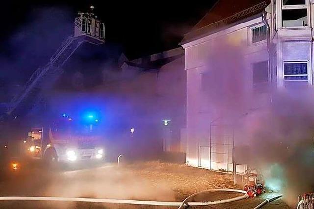 Küche in Offenburger Mehrfamilienhaus nach Fettexplosion ausgebrannt