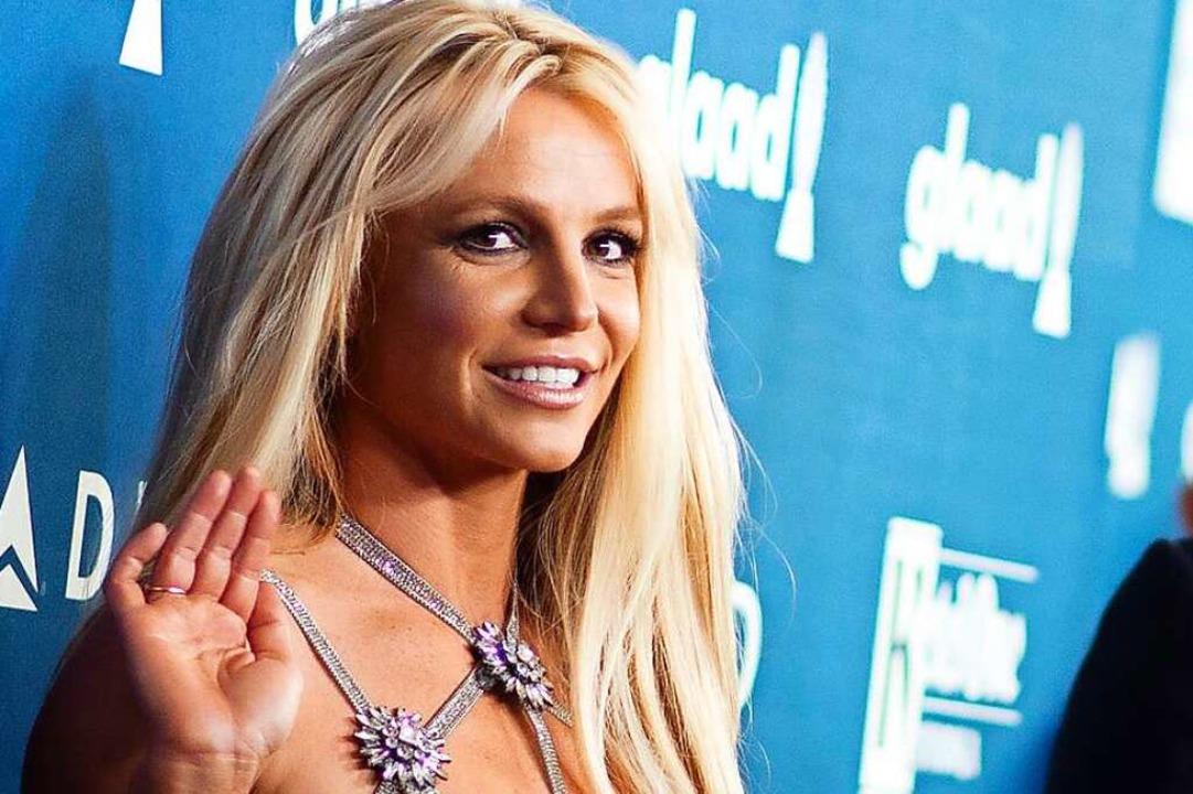 Britney Spears im Jahr 2018, seit Anfa... die Sängerin in einer Schaffenspause.    Foto: VALERIE MACON (AFP)